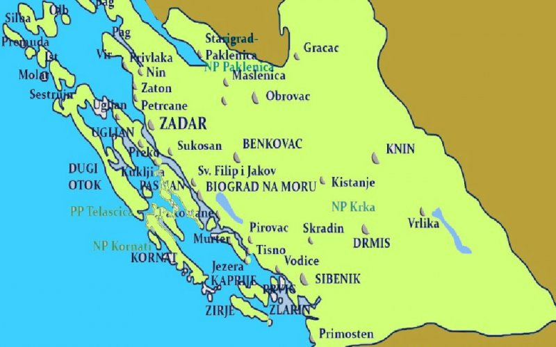 Dalmazia settentrionale